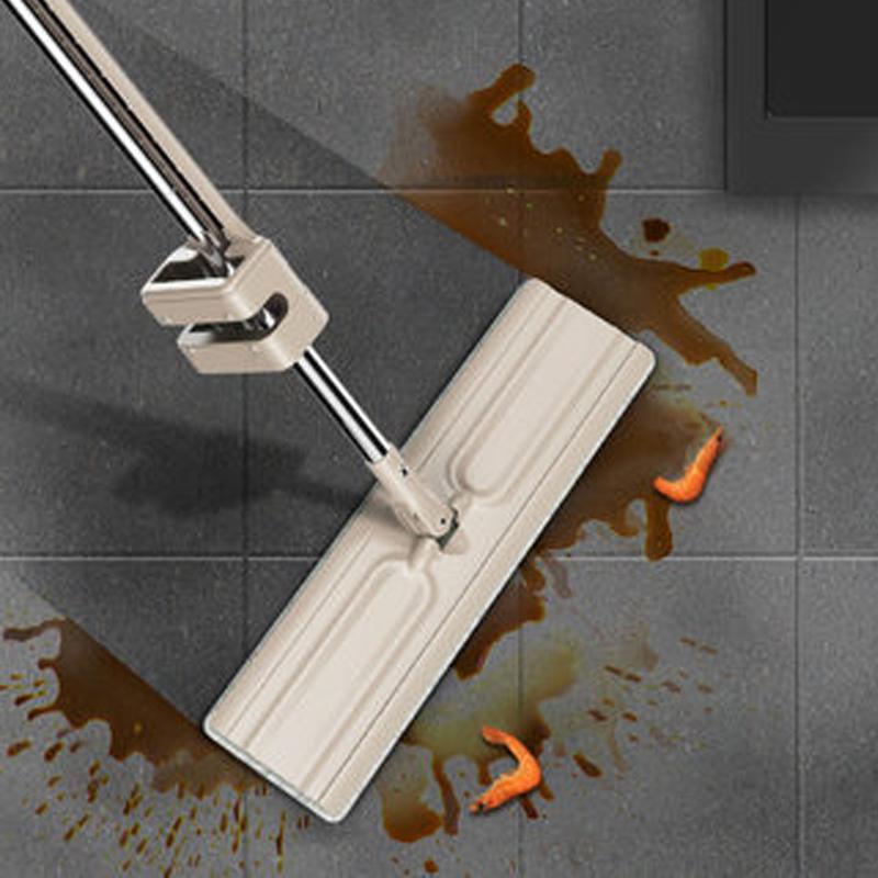 Cây lau nhà không cần giặt tay thoát nước tự động