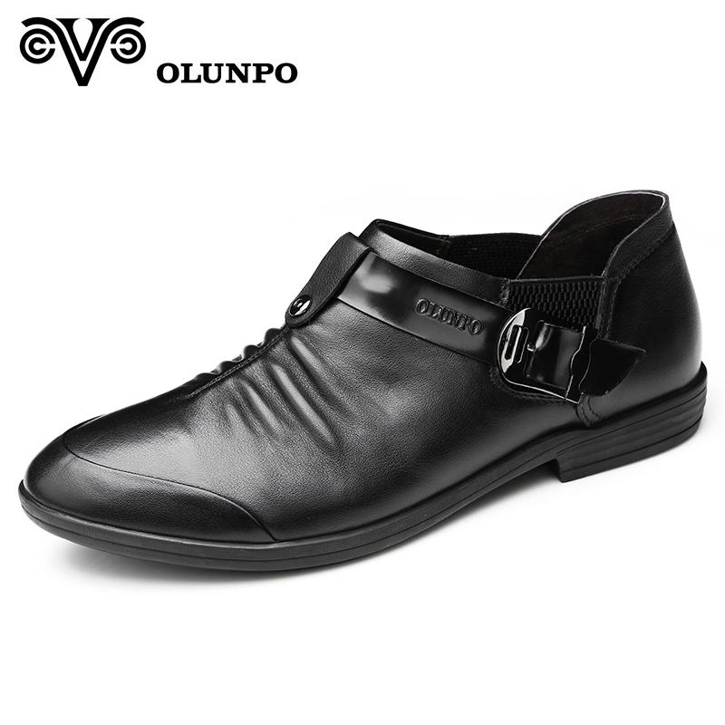Giầy da nam Olunpo QXD1301 - chất lượng, hoàn hảo