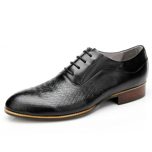Giày da nam Olunpo QABA1226 mặt vân đan thủ công