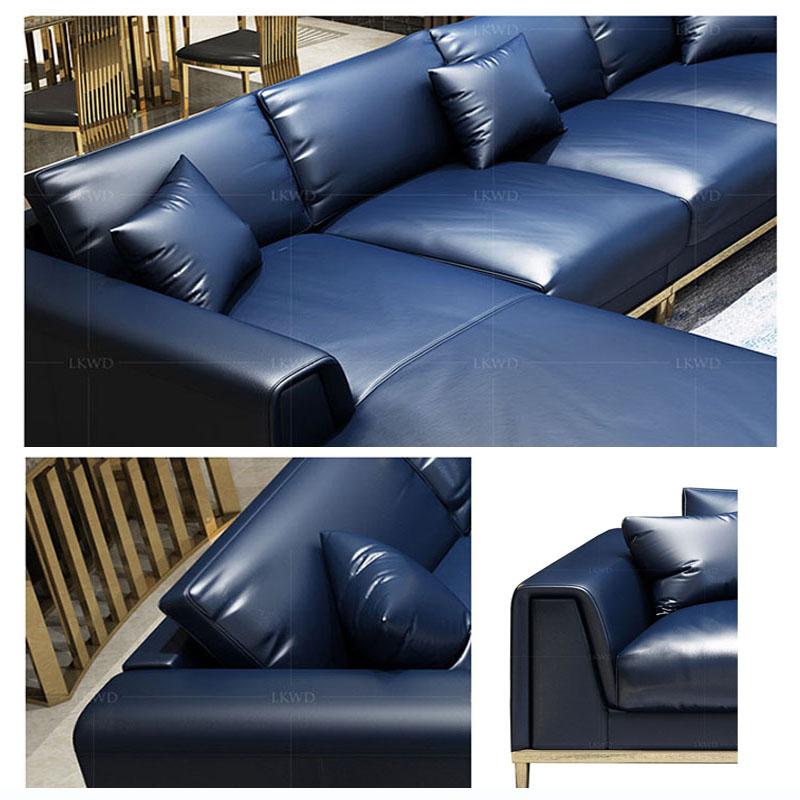 Sofa da thật phong cách Hoàn Mỹ
