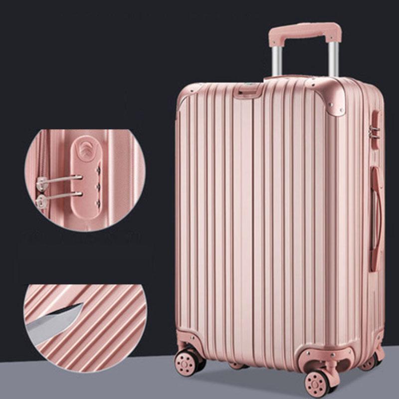 Vali du lịch nam nữ có khóa số bánh lăn đa hướng 24inch Cartelo