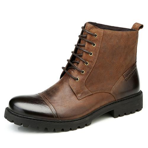 Giày boot nam Olunpo DHT1439 thoáng khí