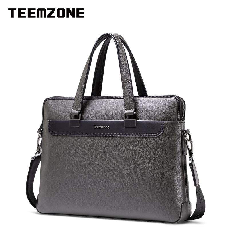Túi da nam cao cấp đeo chéo Teemzone T1031