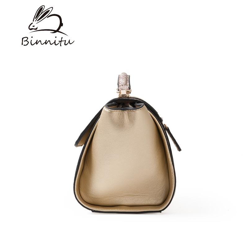 Túi xách nữ khóa xoay Binnitu 6233