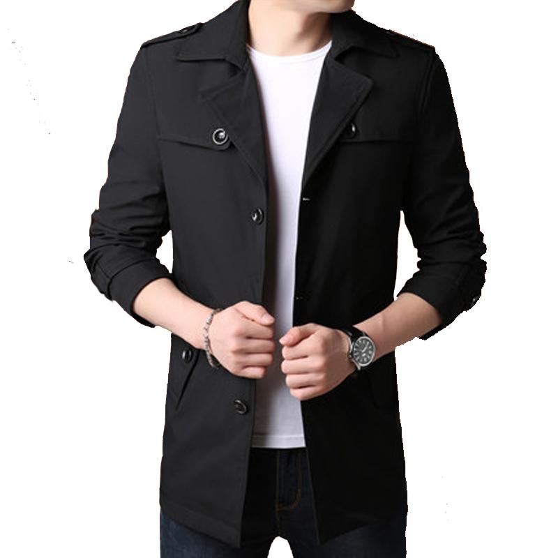 Áo Jacket nam Slimfit cổ bẻ đính cúc