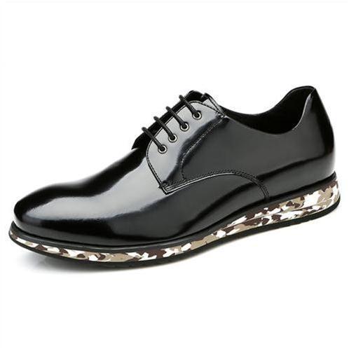 Giày nam Olunpo QHT1417 đế ngụy trang