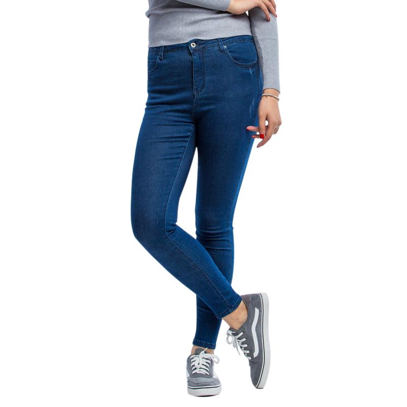 Quần jeans nữ ống côn LJ dành cho người béo
