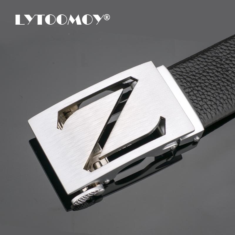Dây lưng nam Lytoomoy LT103 Mặt khóa chữ Z rỗng