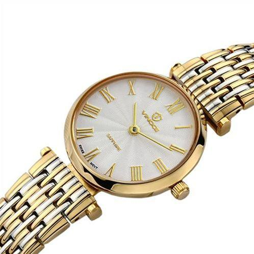 Đồng hồ nữ Vinoce 8369-L mặt kính sapphire tinh xảo