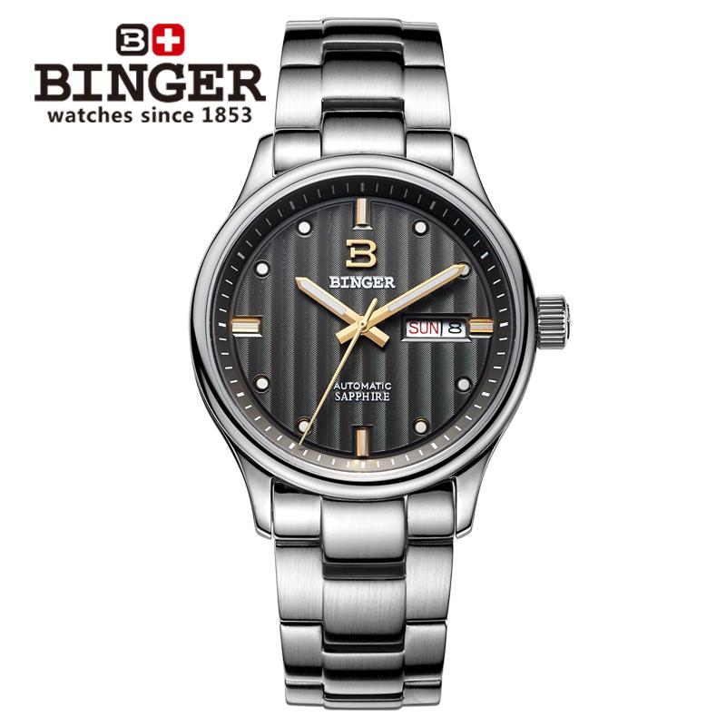 Đồng hồ nam máy cơ automatic Binger