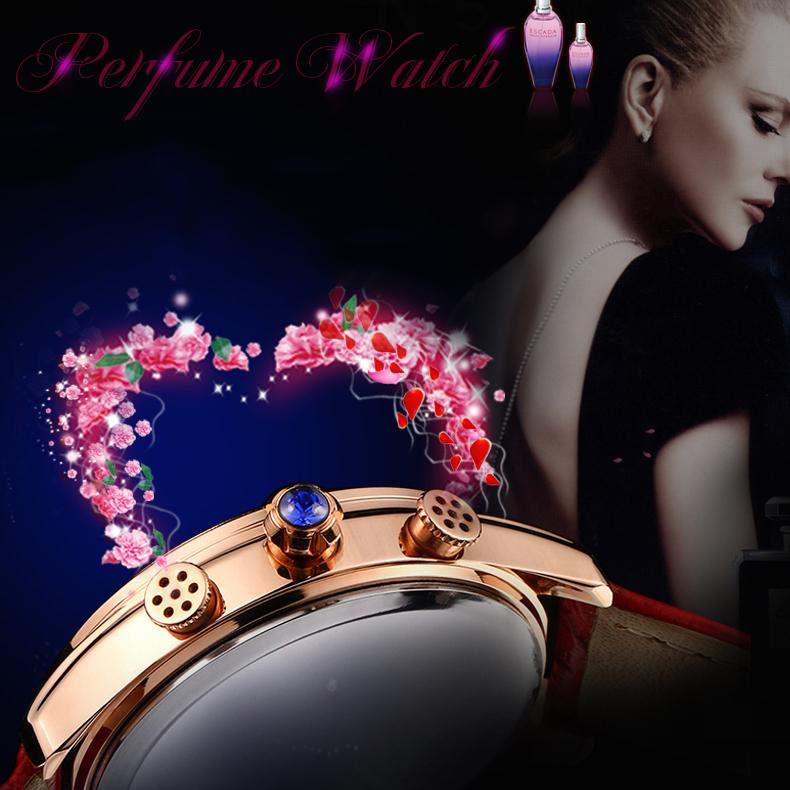 Đồng hồ nữ tỏa hương nước hoa Vinoce V6277L