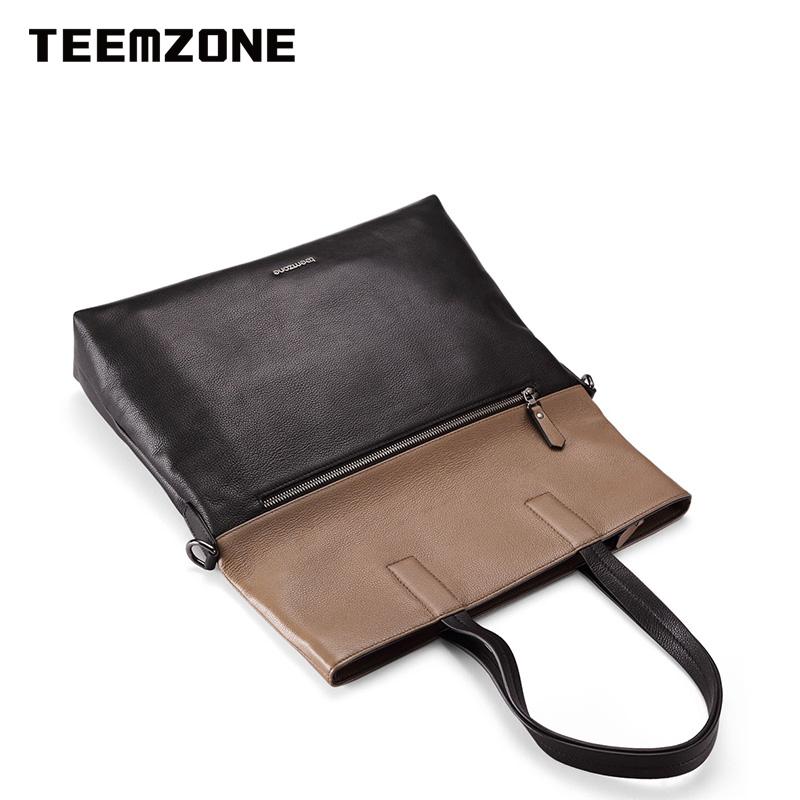 Túi xách nam kiểu dọc Teemzone T1041