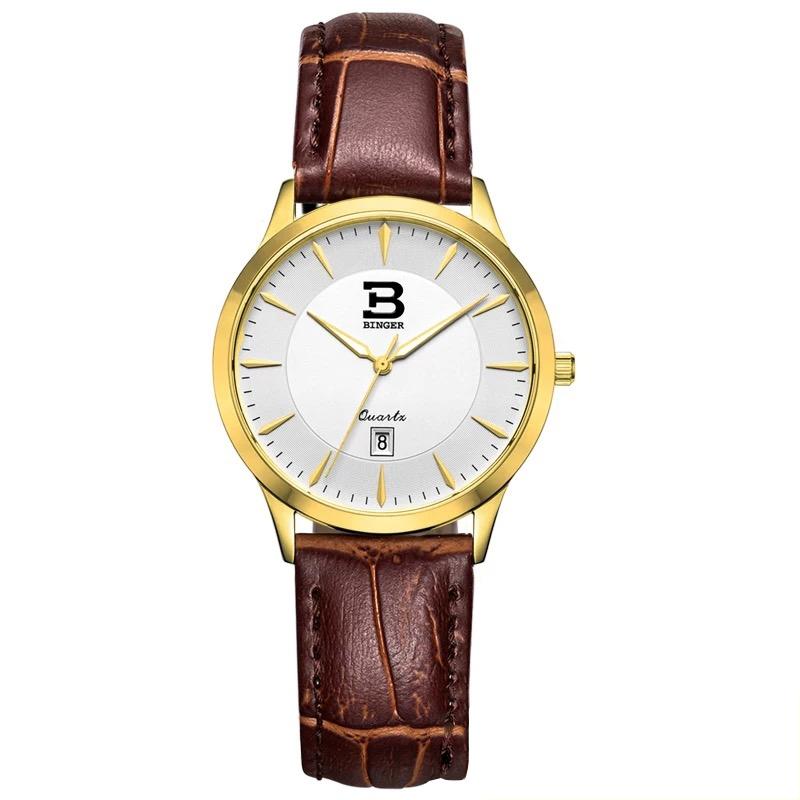 Đồng hồ nữ siêu mỏng cao cấp Binger