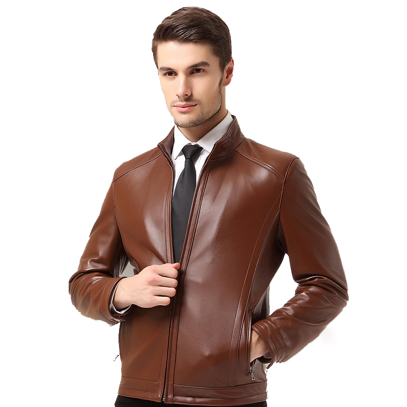 Áo Jacket da cừu trơn cổ trụ