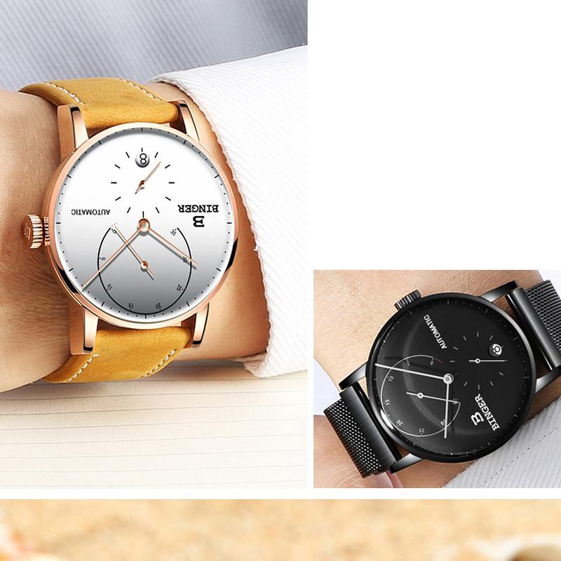 Đồng hồ Automatic phong cách Bắc Âu