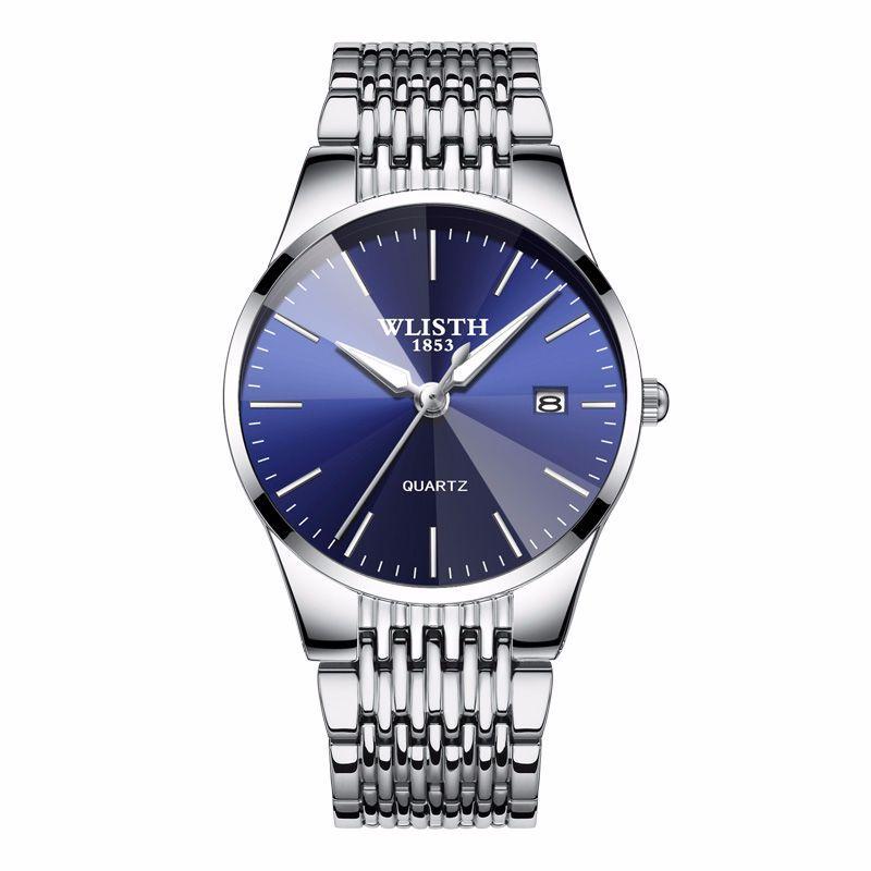 Đồng hồ vành đai thép Wlisth Classic